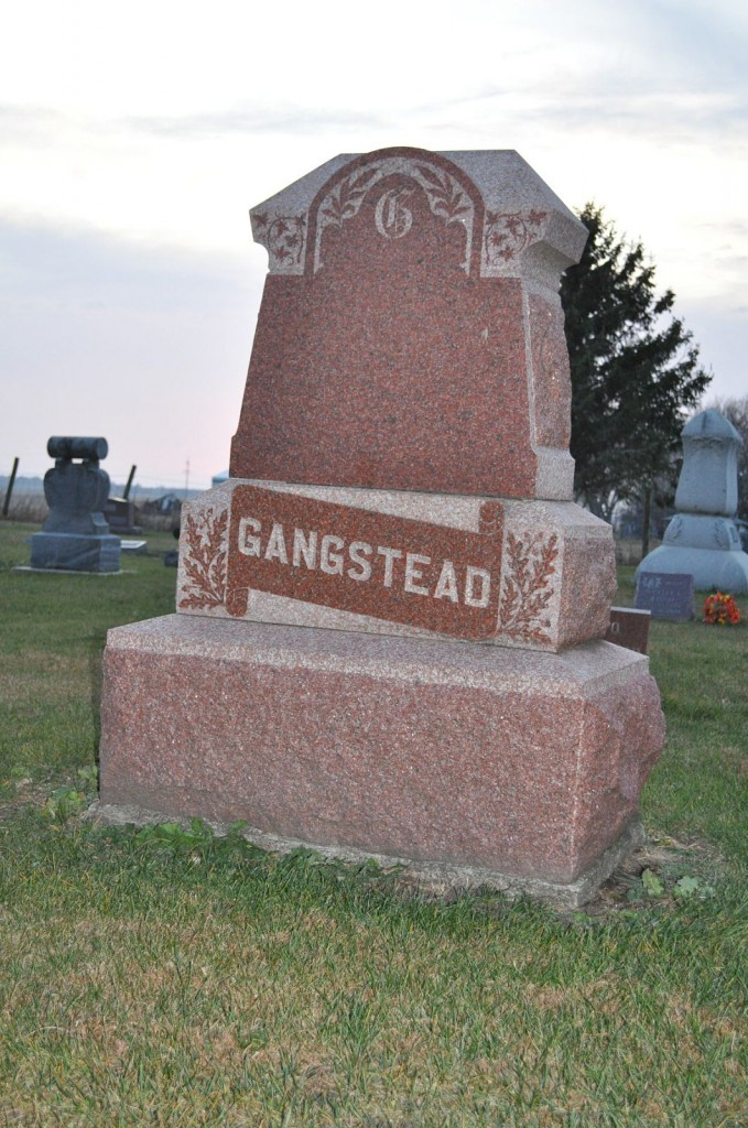There are not a lot of Gangsteads